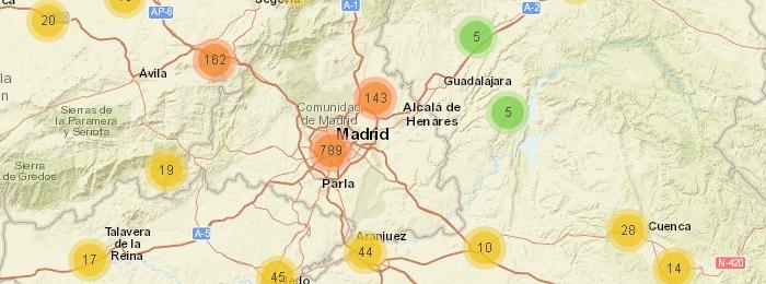 Mapa de radares