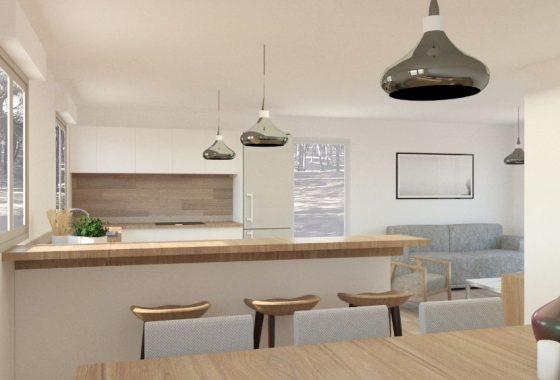 Tipo 3. Cocina - salón