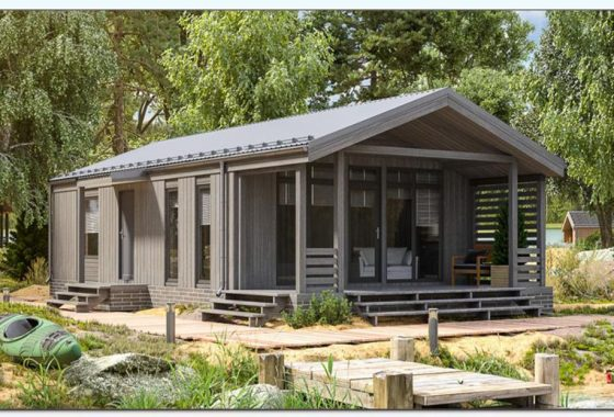 bungalow modelo texas 1