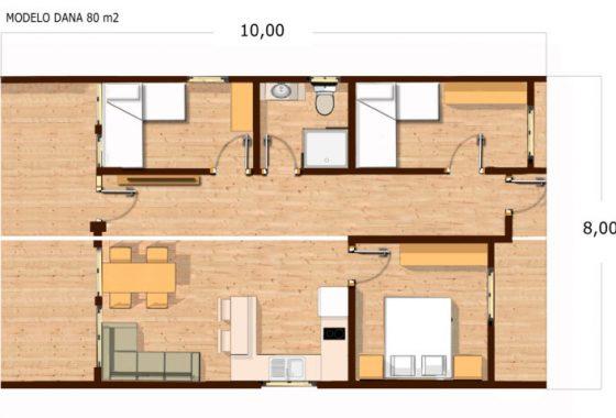 bungalow modelo dalma 3